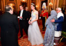 Kate Middleton Was Giving Major Frozen Vibes at The Palace's Holiday Party