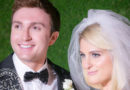 Meghan Trainor Wore a Sheer Wedding Gown