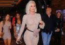 Khloe Kardashian Wore a Totally See-Through Bodysuit