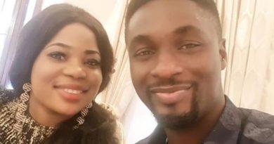 Actor, Adeniyi Johnson Flaunts Pretty Lover to Celebrate New Year