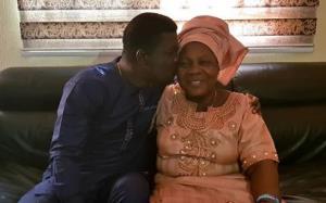 Comedian, Seyi Law Celebrates Mother 73rd Birthday