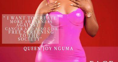 FON Queen, Joy Nguma puts curvy backside on display for VL Magazine cover