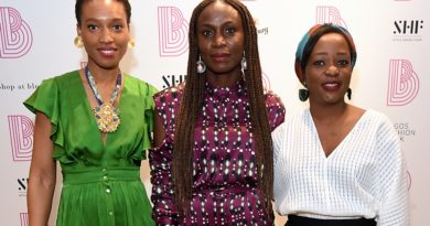 "Lagos Fashion Week ""Between Us"" Launch at TheShop at Bluebird London"