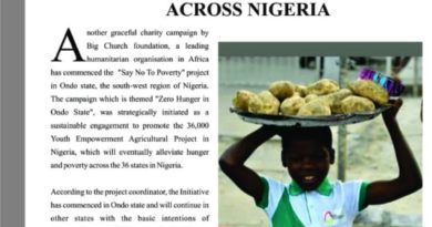 Olakunle Churchill Adorns 12th Edition Of Attention Magazine