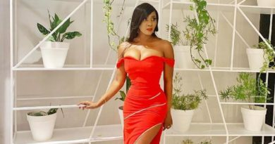 Toni Tones is Red Hot & Stunning in Jewel by Jemila: Collection to Closet