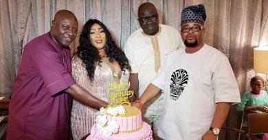 Exclusive Photos:Popular Society Woman Alhaja Omowonuola Ajoke aka KingWonu Celebrates Birthday in Style