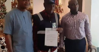 NCC installs music legend, Bongos Ikwue Special Copyright Inspector
