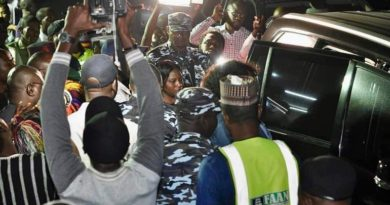 Antarctica Expedition: Nigerians Storm Abuja International Airport Towelcome Ned Nwoko, Regina Daniels Back To Nigeria