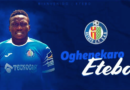 Etebo Joins Getafe On Loan From Stoke City
