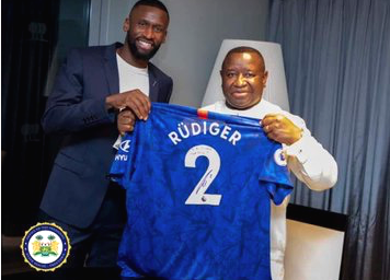 Rudiger Donates $101,000 To Support Free Education In Sierra Leone