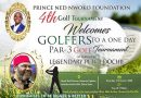 Veteran Actor Pete Edochie To Be Honoured With Prince Ned Nwoko Foundation 4th Golf Tournament