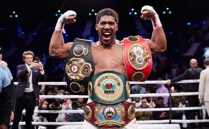 Another Challenge For Anthony Joshua For WBO Belt
