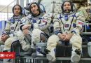 Coronavirus: Astronauts arrive at ISS after long quarantine