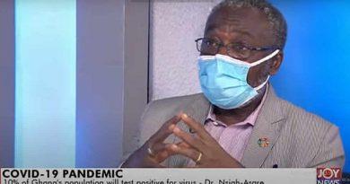 Covid-19: 3 million Ghanaians Likely To Test Positive – President's Advisor On Health