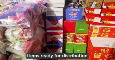 Covid-19 Lockdown: Royalhouse Chapel Donate Food Items To Chorkor, Sukura And Others