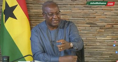 "My ""Abandoned Projects Would've Been Completed By Now"" – Mahama"