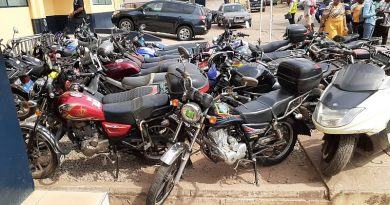 Sunyani: 51 Motor Riders Grabbed For Flouting Social Distancing