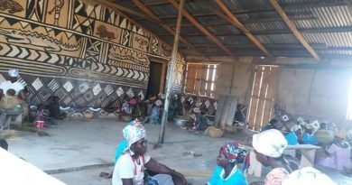 UE/R: Straw Basket Weavers Received PPE, Education On Social Distancing
