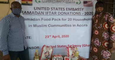 US Embassy Supports Vulnerable Muslim Households To Break Fast