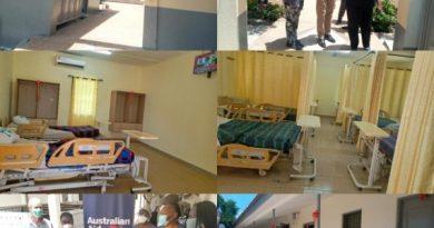 Australian Govt Renovates Accra Psychiatric Hospital