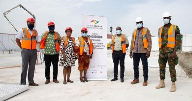 Bui Power Authority DonatesGHC50,000 To Ghana COVID-19 Private Sector Fund