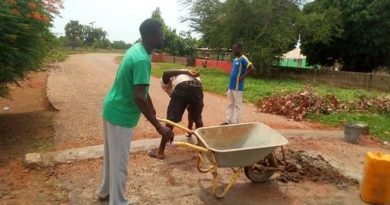 Canteen Assemblyman Mobilises Community Support To Construct Rumble Strips