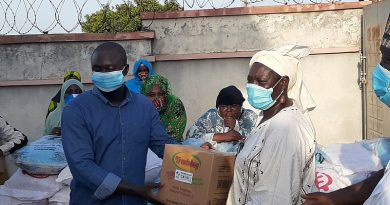 Coronavirus: Mubarick Maswud Supports 500 Households
