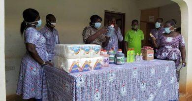 COVID-19: GNAT Donates Medical Items To Goaso Govt Hospital
