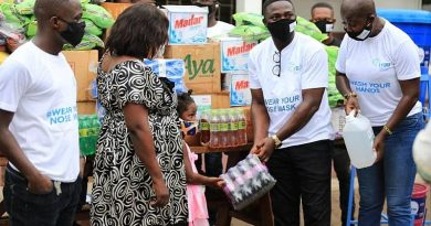 COVID-19: International Young Democratic Union Supports Teshie Orphanages, Assurance Of Hope For The Needy