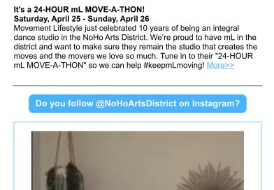 Here's the NoHo News for April 23 – noho arts district