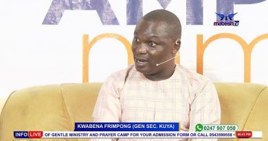 Incarcerate All Fake Nose Masks and Hands Sanitizers Sellers—Kwabena Frimpong