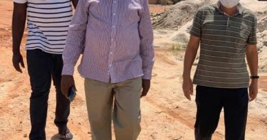 Western North NPP Regional Chairman Visits RCC Construction Site
