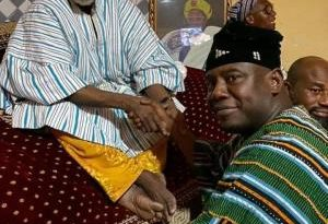 Ya-Naa, Mion-lana Grateful To Farouk Aliu Mahama For His Development-Oriented Leadership