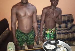 Zebilla Police Arrest Wee Peddlers; Destroys Three Shops