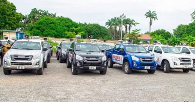 Akufo-Addo Gives 50 Isuzu Vehicles To NCCE To Boost Public Education On COVID-19