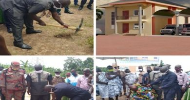 Asante-Akim South Cuts Sod For New Assembly Block, Fire Station