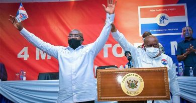 Bawumia Thanks NPP, Akufo-Addo After Historic 4 Successive Nomination As Running Mate