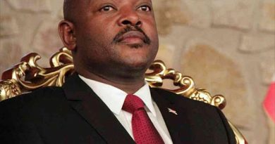 Condolence Message On The Death Of President Pierre Nkurunziza Of Burundi