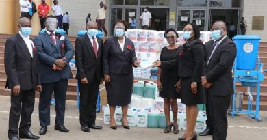 COVID-19 Awareness Week: Greater Accra Bar Donates To Ghana's High Court