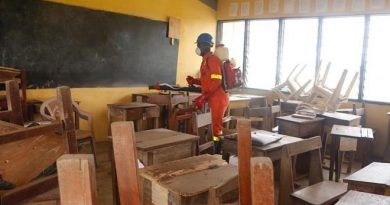High Schools In Ahafo Region Benefit From Disinfection  Against COVID-19