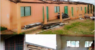 Hohoe: Rainstorm Destroys Roofs Of Classroom Blocks