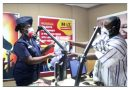 Hot FM Takes Delivery Of Police Diary