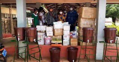 Kuupole Foundation donates to Saint Theresa's Hospital in Nandom