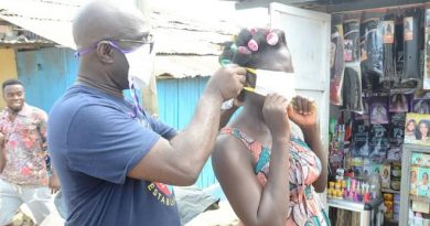 MP For Kwesimintsim Distributes Face Masks And Other Items To Constituents