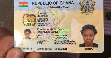 NIA/Ghana Cards Distribution Exercise Underway In Wenchi