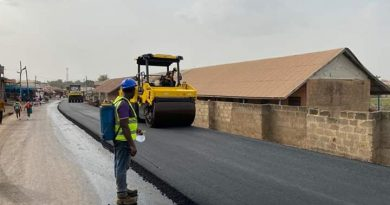 "Obuasi Road Works: ""Mactina – Court Area"" Bypass Gets World Bank Support"