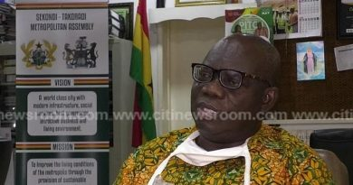 Sekondi-Takoradi Mayor K.K. Sam Reported Dead