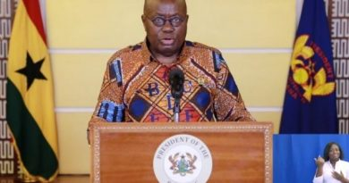 Tracing, Testing And Treatment Will Flatten COVID-19 Curve — Akufo-Addo