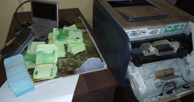 Two Grabbed For Allegedly Printing Fake Money