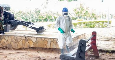 Volta/Oti Region: Disinfection Of 55 Military Facilities, 2,654 Schools Underway